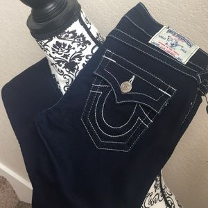 True Religion Slim Straight Jeans